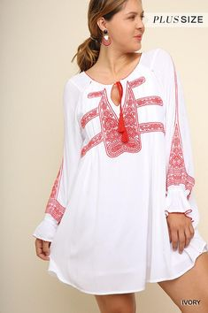 Carefree Afternoon Tunic - Ivory  product type  - Angel Heart Boutique  Angel Heart 7a6f4ef2f