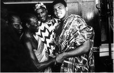 Mohammad Ali's 1964 visit to Ghana