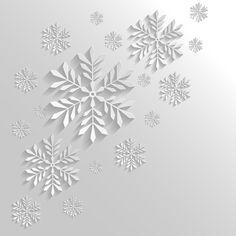 2014 Merry Christmas snowflake background graphics 03