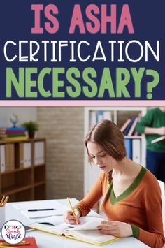 Do school SLPs really need their ASHA Certification to be successful?