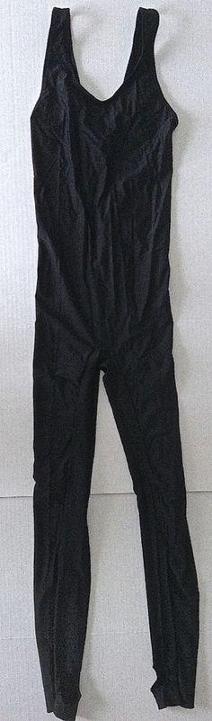 Body Wrappers Leotard Unitard Gymnastics Dance Womens Teen Size S Black #BodyWrappers #Unitard