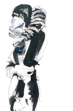 Fashion Sketchbook - fashion illustration for graduate collection; fashion portfolio // Sian Thomas