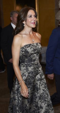 HRH Crown Princess Mary of Denmark attends the Reumert Award 2014 at The Royal Danish Theatre in Copenhagen, 22.06.2014.
