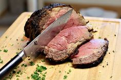 Cooking a Four Rib Prime Rib Roast, easy to roast and with Homemade Horseradish sauce, a very special meal.