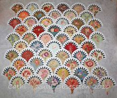 more of clamshells.....just love this type of quilt