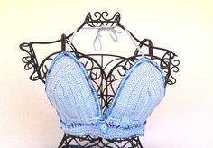 Dress corset #crochet  #blue sky accessories  #dress by morenamacrame