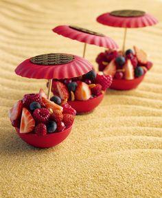 fruits tarts by Christophe Michalak