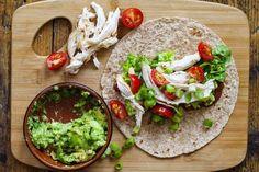 7 SP  Avocado & Chicken Wrap