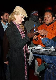 Celebrity of the Day: Nicole Kidman signing charity auction items Charity Fundraising Packages by Charity Fundraising Packages www.charityfundra...