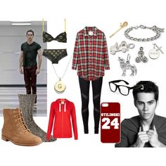 """""""Stiles Stilinski inspired outfit"""" by nzart11 on Polyvore"""