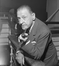 British playwright and novelist W Somerset MaughamWilliam was said to be the world's highest paid author during the 1930s