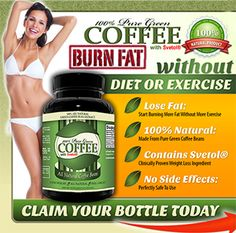 pure green coffee bean extract with svetol 30 day risk free trial bottle