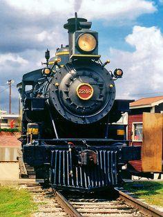 Smoky, Tarantula Train Steam Locomotive, Ft. Worth Stockyards by StevenM_61, via Flickr