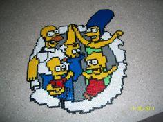 The Simpsons hama beads by les-perles-hama - skyrock