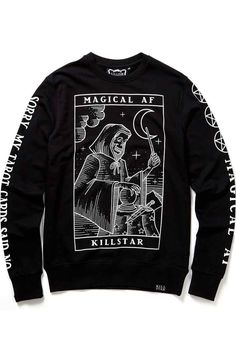 ac9e054a23af5 Magical AF Sweatshirt [B] | KILLSTAR Never ever forget; you're a magical  creature - constantly creating and carving out your own destiny. Ur magical  AF.