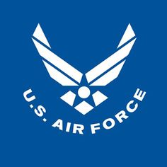 US Air Force - USAF Blue... Would be cool with the American flag filling the white parts of the symbol