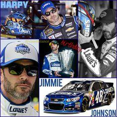 Happy Birthday Jimmie Johnson! September 17th; Pixlr edit
