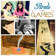 Pirate Birthday Party Games & Activities #birthday #party #piratetheme #games