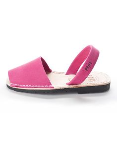 Take a look at this Fuchsia Classic Sandal by Avarcas on #zulily today!