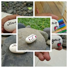 Create your feeling on stone