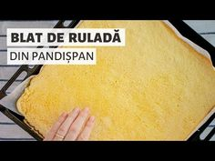 Cel mai simplu blat de ruladă. Rețeta de bază pe care trebuie să o știi! | Bucate Aromate - YouTube Romanian Food, Cornbread, Tiramisu, Mai, Ethnic Recipes, Sweet, Youtube, Recipes, Pork