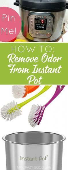 How to remove odor from instant pot and sealing rings naturally using lemon, baking soda, and warm water. Instant pot tips and tricks. Power Pressure Cooker, Pressure Pot, Electric Pressure Cooker, Instant Pot Pressure Cooker, Pressure Cooker Recipes, Pressure Cooking, Slow Cooker, Instant Cooker, Rice Cooker