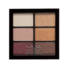 MUA Professional 6 Shade Palette - Rusted Wonders