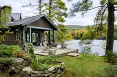 peaceful lake house