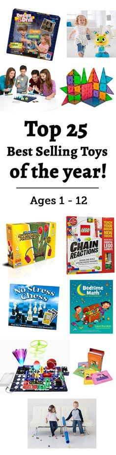 Best Selling Toys of 2015: The top toys for ages 1 to 12 from our famous gift guides- complete with detailed descriptions and reviews.
