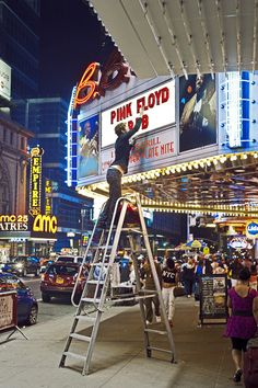 42nd Street Times Square. New York, New York