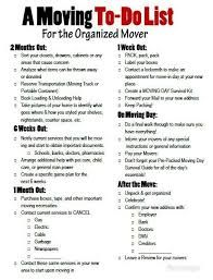 Image result for moving checklist