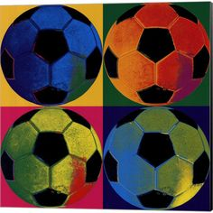 soccer canvas - Google Search