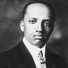 Pinner sez:  Hope you guys know this man. Carter G. Woodson was the founder of Black History Month. He was a historian, author, Republican, journalist and the founder of the Association for the Study of African American Life and History. In 1912, he became the second Black to earn a Ph.D at Harvard University.