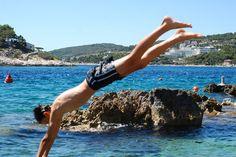 everyobody in croatia likes to jump from the rocks by Tahiana Máximo, via Flickr
