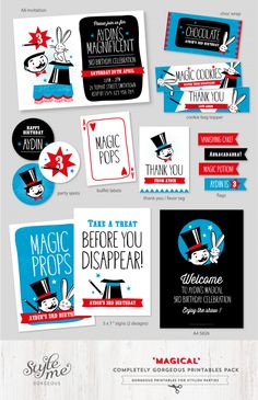 Magic Party Ideas for Boys                                                                                                                                                                                 More