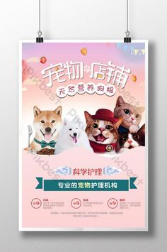 pet shop food dog food pet promotion poster pink warm background #cat #pikbest #poster #cat #dog #print #advertisements #ideas #layout #typography #inspiration Cat Template, Templates, Diy Cat Bed, Cat Background, Pet Dogs, Pets, Dog Cat, Dog Store, Cat Crafts