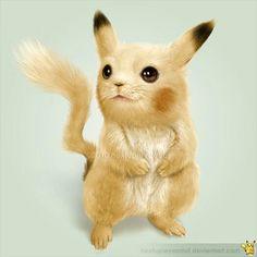 PIKACHU: é uma das espécies fictícias de criaturas pertencentes à franquia Pokémon. É um Pokémon Elétrico com a capacidade de armazenar eletricidade em suas bochechas e liberá-la em ataques baseados em relâmpagos. Podem ser encontrados em casas, florestas, montanhas e geradores de eletricidade.