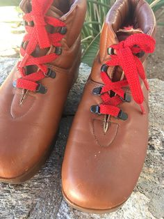 1980's Bass SuGaRLoaFeR CaMpUs EarTh SHoes MooN BooTs