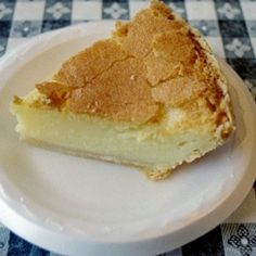 Chess Pie     This is by far  my favorite pie..My grandmother always made this for me on Friday nights when I would stay with them.. I watched her make it,and share the love of this with my Daughter..
