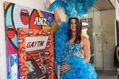 Another odd choice of Grand Prix but a very effortless sponsorship idea for  a bank: To turn all their ATMs into GAYTMs during the Australian Mardi Gras .  The colourful campaign won the 2014 Cannes Outdoor Lions Grand Prix.