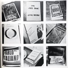 spines and pages thanks to ideabooksltd Six picture special for a signed copy of Sol LeWitt's Autobiography. Published in 1980. A life in square format photographs. Surely not? Pre Instagram! The future. A photograph of every object in LeWitt's live/work space. Deep breath and email if you want@idea-books.com #sollewitt #SIGNED #autobiography #1989 Filed under: ideabooksltd […] to READ ideabooksltd docenoon InspirePossibility CreateOpportunity CultureOfPossibility EnthusiasmForOpportunity…