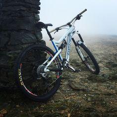 Santa Cruz bronson and a very foggy helvellyn!