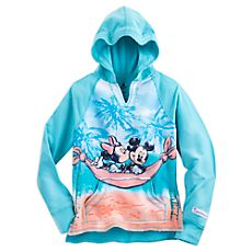 Mickey and Minnie Mouse Pullover Hoodie for Girls - Walt Disney World - Blue Mickey Mouse Room, Disney Mickey Mouse, Minnie Mouse, Disney Sweatshirts, Disney Shirts, Disney Clothes, Disney Bound Outfits, Vacation Outfits, Disney Style