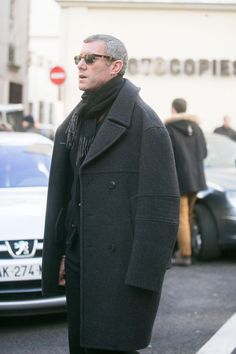 Statement Winter Coats: structured gray pea coat