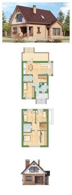 Проект дома 140-002-П   House Expert