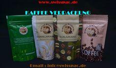 Kaffee verpackung Verpackungsmaterial - Kaffee wird in vielen Arten von Materialien verpacked, die von Papiertüten bis zu schwere Folienlaminate reicht. Das Verpackungsmaterial kann auch eine wichtige Branding- und Marketing-Rolle spielen. Hinsichtlich der Haltbarkeit des Kaffees, sollte der Beutel gut abgedichtet und feuchtigkeitsfest sein. http://www.swisspac.de/kaffee-verpackung/