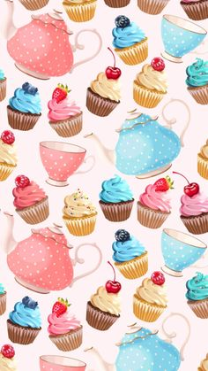 ❊ᎥᏢhσnє Ꮃαllpαpєrѕ❊ Food Wallpaper, Wallpaper For Your Phone, Cellphone Wallpaper, Wallpaper Backgrounds, Iphone Wallpaper, Watercolor Card, Sweets Art, Printable Scrapbook Paper, Theme Background