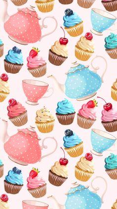 ❊ᎥᏢhσnє Ꮃαllpαpєrѕ❊ Wallpaper For Your Phone, Cellphone Wallpaper, Iphone Wallpaper, Cute Wallpapers, Wallpaper Backgrounds, Watercolor Card, Sweets Art, Printable Scrapbook Paper, Theme Background