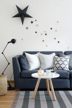 ❤️ j' aime bien les étoiles au mur