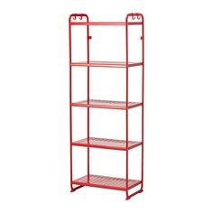 IKEA Mulig Shelving Unit 5 Stain Resistant Shelves with Hooks Organizer (Black) *** Find out more about the great product at the image link. (This is an affiliate link) Ikea Shelving Unit, Storage Shelves, Storage Spaces, Boot Storage, Wire Shelving, Office Storage, At Home Furniture Store, Modern Home Furniture, Ikea Mulig